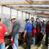 Hundreds of pounds of buffalo burgers need to be grilled every year, typically by the same group of people!