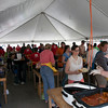 This year, 9,040 meals were served at the BBQ.