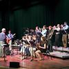 The Elk Rapids High School Jazz Combo performing in Milliken Auditorium
