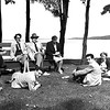 1955 - Faculty at college picnic