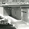 1962 - Front of NMC Library before addition