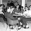 1964 - Lunchtime in the cafeteria