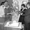 1960 - Bill Slamen with his class