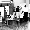 1960 - Ralph Parton's drawing class with model