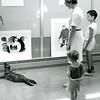 1960s - Bev Gravlini's live seal in NMC's Osterlin Library