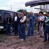 1979 - Professor Arlo Moss with science class field trip