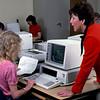 1980 - Professor Joan Berg computer class