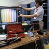 1980 - Fixing a color television