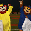 2010 - Mascots Suntan & Sunburn at a Beach Bums baseball game