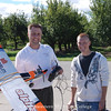 2010 - Unmanned Aerial Systems (UAS) Program Manager Tony Sauerbrey and a student