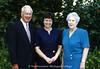 NMC Fellows, 1989:  Arthur M. and Mary E. Schmuckal with former NMC President Ilse Burke (middle)
