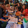 Students sign-up for Habitat for Humanity at Pine Palooza 2012