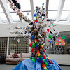 Student Recycled Materials Sculpture