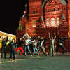 NMC students in front of Saint Basil's Cathedral in Moscow, Russia