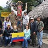 NMC Business students at the equator in Ecuador