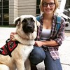 Beka and her service dog, Zola, make a great team!
