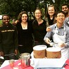 NMC International Club students serving up a tasty treat on the first day of fall!